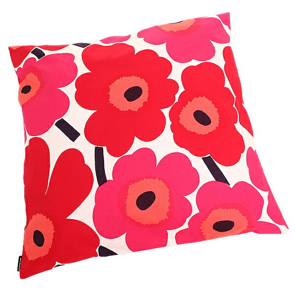 マリメッコ クッションカバー MARIMEKKO 064163 001 PIENI UNIKKO CUSHION COVER WHITE/RED