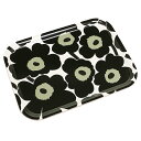 マリメッコ トレー MARIMEKKO 067766 030 MINI UNIKKO PLYWOOD TRAY BLACK/WHITE
