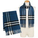 バーバリー マフラー BURBERRY 3994209 4080B GIANT CHECK CASHMERE SCARF カシミア100% 30×168cm M...