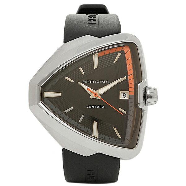 ハミルトン 時計 HAMILTON H24551331 ベンチュラ ELVIS80 メンズ腕時計 ウォッチ ブラック/シルバ- HAMILTON ハミルトン