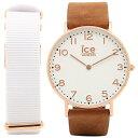 アイスウォッチ 時計 ICEWATCH CHL.A.WHI.36.N.15 ICE CITY WHITECHAPEL ユニセックス腕時計 ウォッチ ホワイト/ピ...