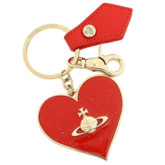 薇薇恩 · 韋斯特伍德鑰匙串薇薇恩 · 韋斯特伍德 321357 鏡心小工具鑰匙圈紅