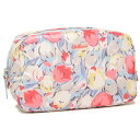 キャスキッドソン ポーチ CATH KIDSTON 591980 CLASSIC BOX COSMETIC BAG PAINTED TULIPS ポーチ PASTEL