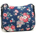 キャスキッドソン バッグ CATH KIDSTON 594370 CANVAS & LEATHER CROSS BODY BAG FOREST BUNCH ショルダーバッグ NAVY