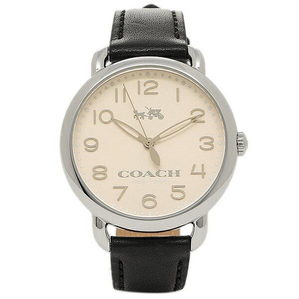 コーチ 時計 COACH 14502267 DELANCEY デランシー レディース腕時計ウォッチ シルバー/ブラック COACH コーチ