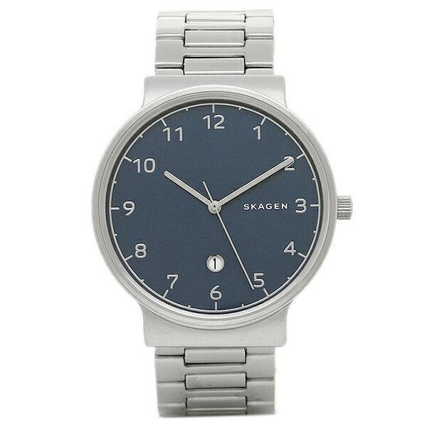 スカーゲン 時計 SKAGEN SKW6295 ANCHER メンズ腕時計 ウォッチ シルバー/ブル- SKAGEN スカーゲン
