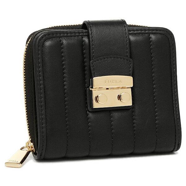 フルラ 折財布 FURLA 833793 PQ62 2Q0 ブラック