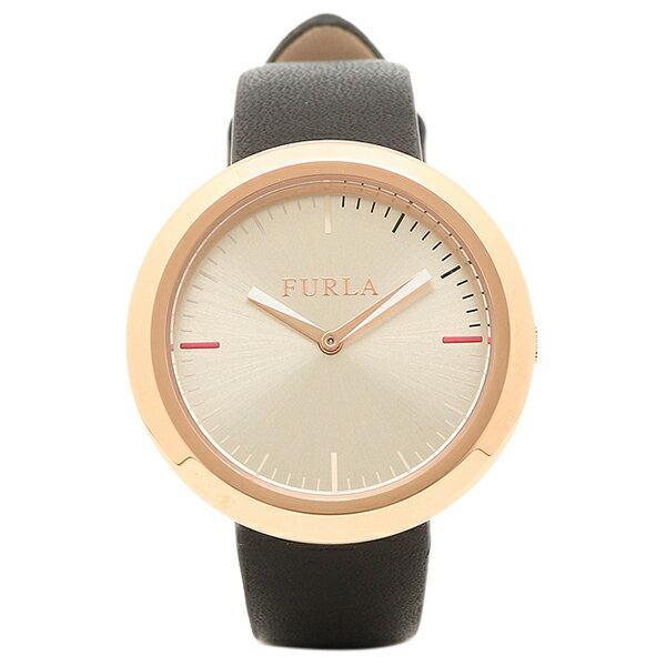 フルラ 腕時計 FURLA R4251103503 ローズゴールド/ブラック