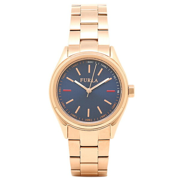 フルラ 腕時計 FURLA R4253101501 ローズゴールド/ブルー 【10%OFFクーポン対象商品 3/21~3/24 09:59】フルラ FURLA