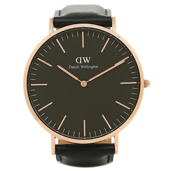 ダニエルウェリントン 腕時計 Daniel Wellington DW00100127 40mm SHEFFIELD ローズゴールド