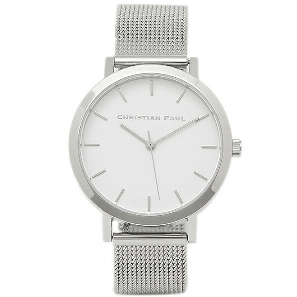 クリスチャンポール 腕時計 CHRISTIAN PAUL RWML-03 シルバー ホワイト