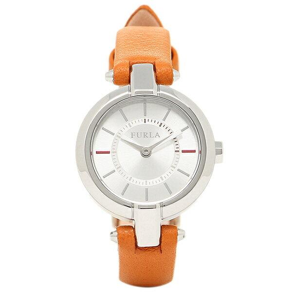 FURLA 腕時計 フルラ R4251106505 866684 シルバー/オレンジ