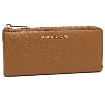 【4時間限定ポイント10倍】マイケルコース 長財布 レディース アウトレット ACORN ブラウン 35S7GBFZ3T