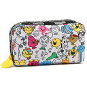 レスポートサック ポーチ LESPORTSAC 6511 G262 MR. MEN AND LITTLE MISS