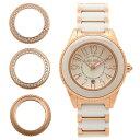【4時間限定ポイント10倍】 フォリフォリ FOLLI FOLLIE 時計 腕時計 フォリフォリ 時計 FOLLI FOLLIE 腕時計 レディース WF0B033BDW セラミック ホワイト/ピンクゴールド ウォッチ