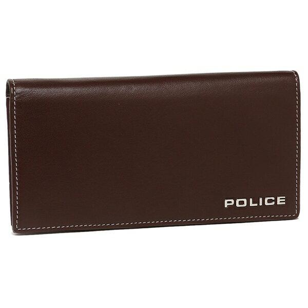ポリス メンズ 長財布 POLICE PLC132 ブラウン