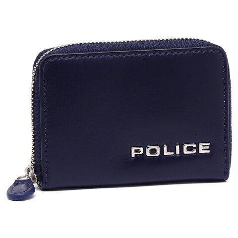 【4時間限定ポイント10倍】ポリス メンズ コインケース POLICE PLC135 ネイビー