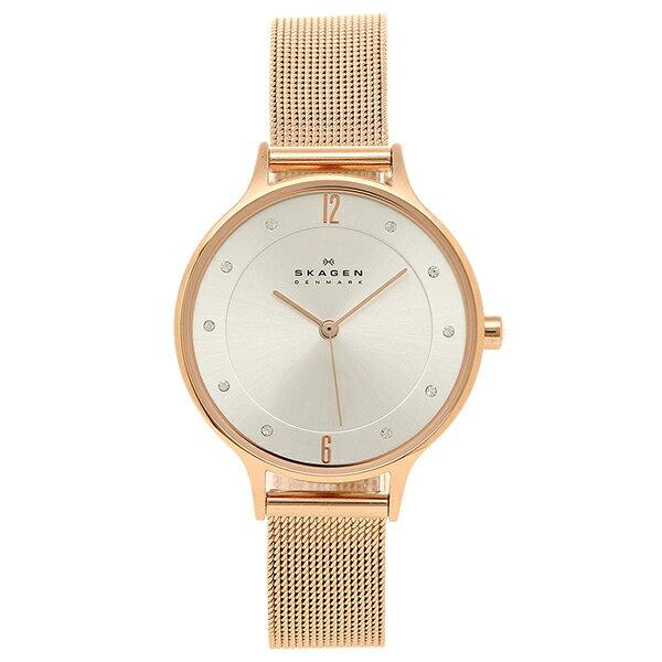スカーゲン SKAGEN 腕時計 時計 SKW2151 MESH ステンレスメッシュ ウォッチ ローズゴールド