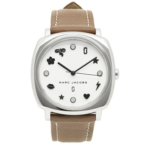 マークジェイコブス 腕時計 レディース MARC JACOBS MJ1563 グレーベージュ シルバー