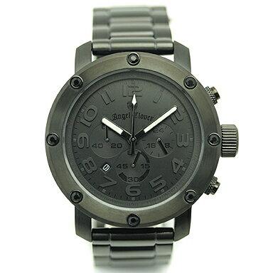 ANGEL CLOVER エンジェルクローバー ES46BBB ブラック メンズウォッチ 腕時計