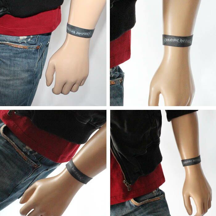 Chrome hearts rubber band black yellow rubber bracelet bangle men