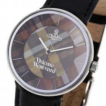 【ポイント2倍】ヴィヴィアンウエストウッド Vivienne Westwood tartan unisex watch 腕時計VV020 BK *【c】【新品・未使用・正規品】 【送料無料】2017