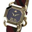 ヴィヴィアンウエストウッド Vivienne Westwood ravenscourt womens watch 腕時計VV085 BKBR *【c】【新品・未使用・正規品】