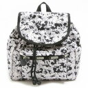LeSportsac 9808-P928 SMALL EDIE BACKPACK ディズニー エディ リュックサック MICKEY LOVES MINNIE/ 【f】【新品/未使用/正規品】