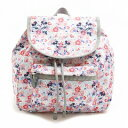 LeSportsac レスポートサック9808-P929 SMALL EDIE BACKPACK ディズニー エディ リュックサック SPRING FLING【f】【新品/未使用/正規品】