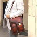 【送料無料】Lugard:G-3 ジースリー:A4サイズ専用ロック付縦型2wayショルダーバッグ[5221]【代引手数料無料】 *牛革/日本製/メンズバッグ/色:ブラウン* 【楽ギフ_包装】
