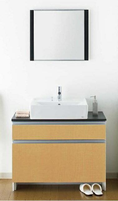 ジャニス工業 洗面化粧台 LU903CSD-20/化粧鏡 LUM602CS 送料無料 【き】
