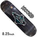 ショッピングREGAL スケボー デッキ スケートボード ゴンズ KROOKED クルキット スケボーデッキ 板 BRD REGAL TM Black 8.25inch ストリート オシャレ ファッション アイテム マークゴンザレス