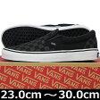 VANS ヴァンズ Classic Slip-On BLACK/BLACK CHECKERBOARD ( 23-30cm )【VANS ヴァンズ ばんず スリップオン スリッポン キャンパス USA企画 クラシック チェック シューズ スニーカー 靴 メンズ レディース】