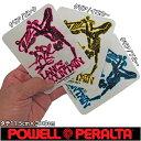 POWELL PERALTA ( パウエル ペラルタ ) Lance Mountain Future Primitive Sticker (3カラー)(タテ11.5cm×ヨコ9cm) ( スケートボード スケボー SK8 ランス マウンテン ブリゲード シール ステッカー )