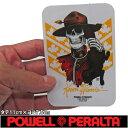 POWELL PERALTA ( パウエル ペラルタ ) Kevin Harris Mountie (1カラー)(タテ11m×ヨコ7.5cm) ( スケートボード スケボー ステッカー )