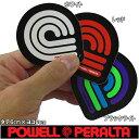 POWELL PERALTA ( パウエル ペラルタ ) Triple P Sticker (タテ6cm×ヨコ6cm) ( POWELL PERALTA パウエル ペラルタ スケートボード スケボー シール ステッカー )