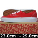 VANS バンズ ヴァンズ Authentic (Red 2...