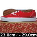VANS ( バンズ ) Authentic Red (23-29cm) ( ばんず ヴァンズ オーセンティック メンズ レディース ユニセックス 靴 シューズ...