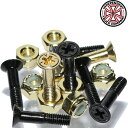スケボー ボルト ナット スケートボード インディペンデント インディ 純正 パーツ ネジ 金 ゴールド Independent Indy Genuine Parts Phillips Hardware Gold