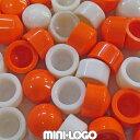 Mini Logo ミニロゴ パーツ 部品 ピボットカップ Pivot Cups ホワイト オレンジ スケートボード スケボー