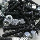Mini Logo ミニロゴ Hardware プラス 8本set スケートボード スケボー パーツ トラック ボルト ナット