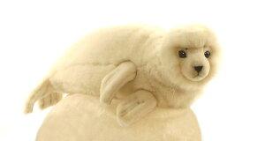 HANSA(ハンサ) アザラシ >> ぬいぐるみ ヌイグルミ 動物 アニマル リ…の画像