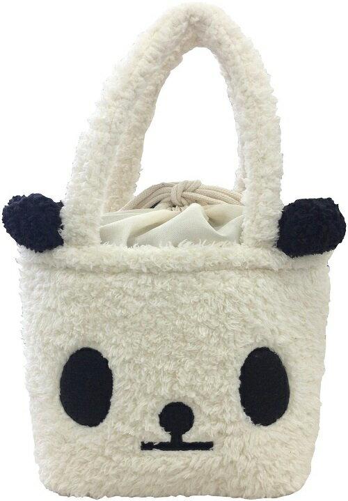 【麻布製作所】ツイン トートバッグ 巾着タイプ パンダ PAS003