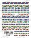 【メール便対応】ツメキラ(TSUMEKIRA) ネイルシール【es(エス)】【color misanga カラーミサンガ】Free's Nailプロデュースシリーズ..