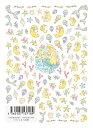 ツメキラ (TSUMEKIRA) ネイルシール【スタンダードスタイル たけいみき 人魚姫】◆ネイルシール マーメイド 貝殻 シェル 海 ヒトデ 海月 魚 珊瑚 たつのおとしご