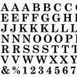 Amaily (アメイリー) ネイルシール 【ABC 黒】【メール便対応】◆シンプル!・・・なのに超オシャレ!なネイルシール大文字 ナンバー 記念日 ロゴ 英語 アルファベット 数字 記号 ナンバリングネイル 大きい