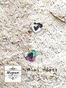 Mignon ダイヤモンドガラスストーン Mini Heart ミニハート 5個入り 3×4mm