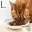 食器 猫 ヘルスウォーター フードボウル L