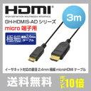 【送料無料&PT10倍】スリム HDMIケーブル typeA...