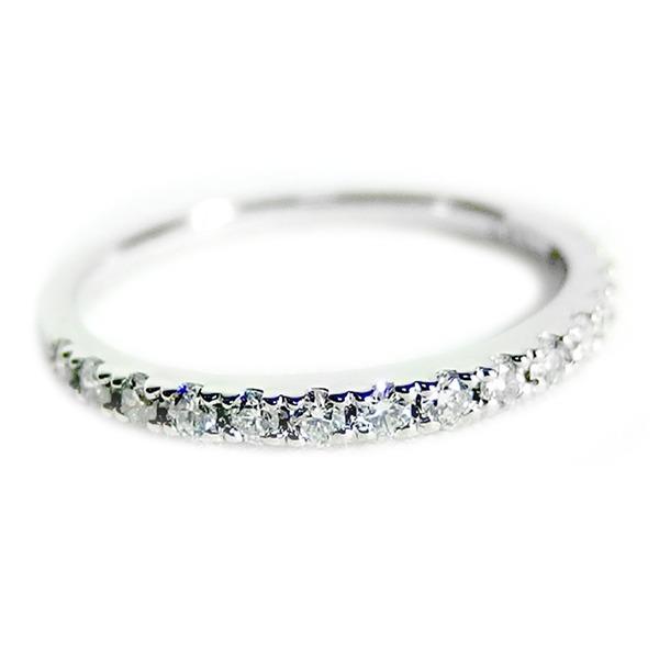 【ポイント10倍】【鑑別書付】プラチナPT900 天然ダイヤリング 指輪 ダイヤ0.30ct 8.5号 ハーフエタニティリング ダイヤモンドリング